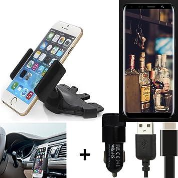 K-S-Trade® Top Set para Bluboo S8 Soporte Ranura de CD Smartphone ...