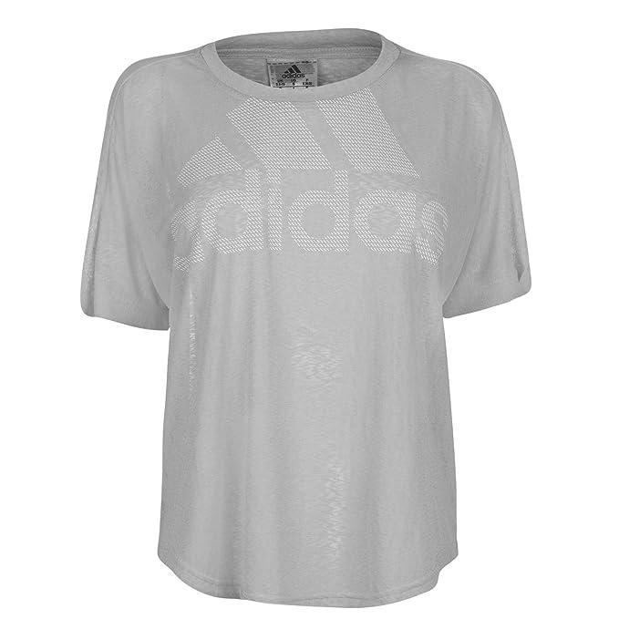 Adidas Magic Logo tee, Camiseta Deporte para Mujer: Amazon.es: Ropa y accesorios