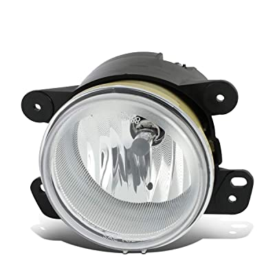 DNA Motoring FL-OEM-0002 1Pc L/R OEM Fog Light/Lamp [For 05-10 Chrysler 300/Jeep Wrangler]: Automotive