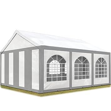 Amazon De Toolport Hochwertiges Partyzelt 3x6 M Pavillon Zelt 240g