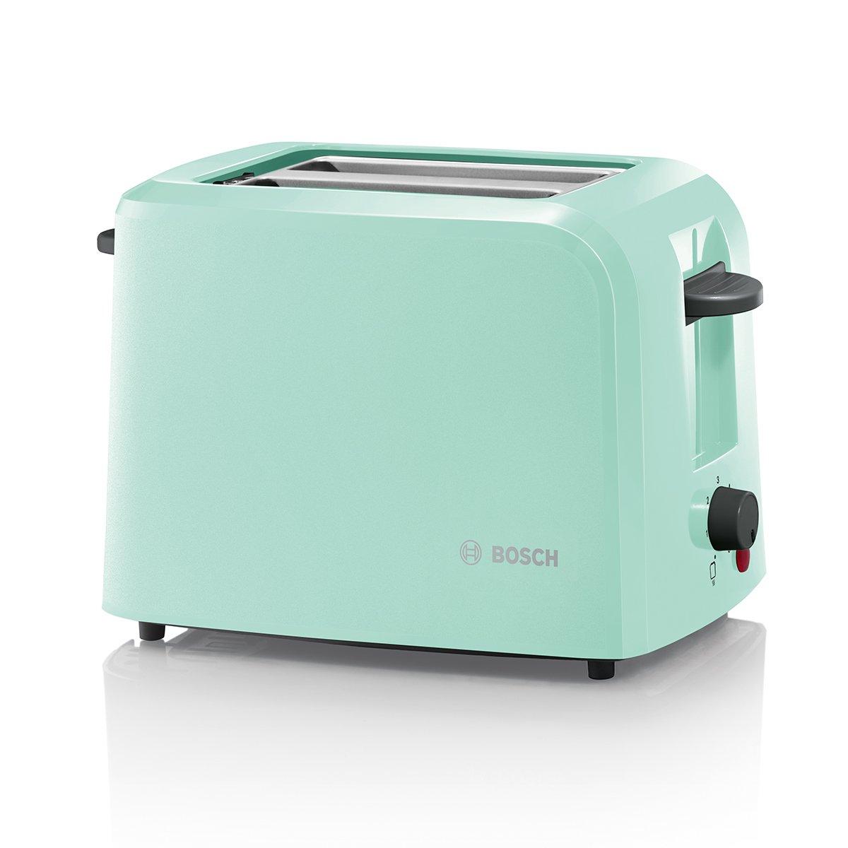 retro toaster in minz gruen von bosch