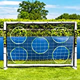 Net World Sports FORZA Football Goal Target Sheets - 9 [Goal Not Included] (6ft x 4ft)