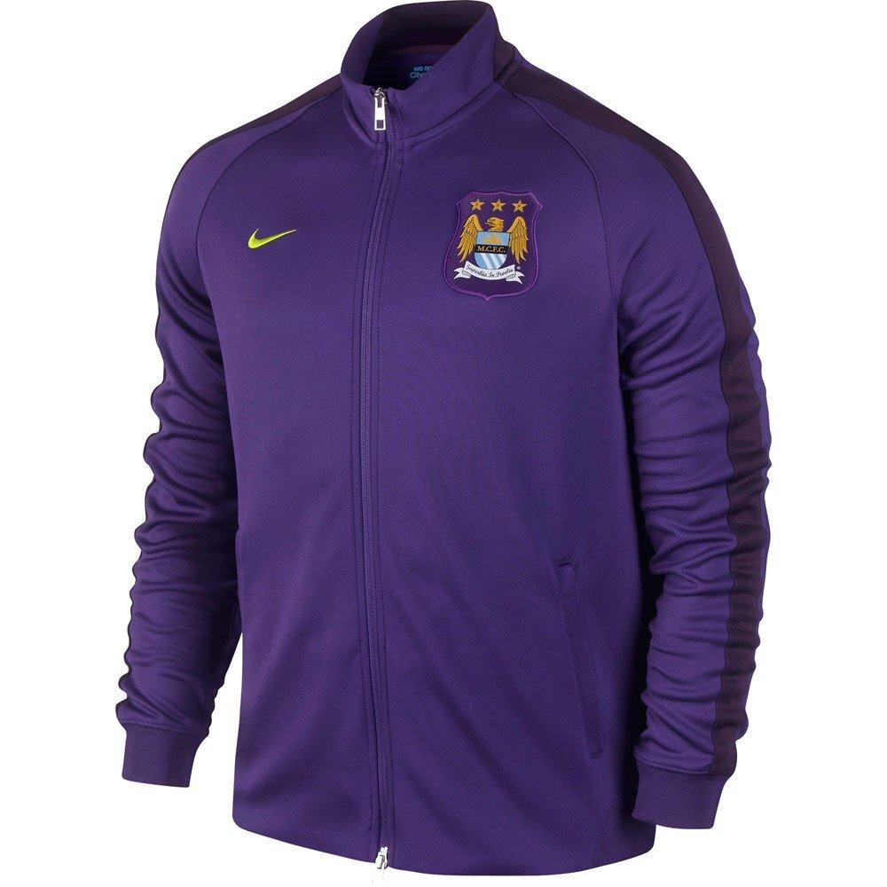 2014-2015 Man City Nike Authentic N98 Jacket (Purple) B006OBDHPO Medium 38-40