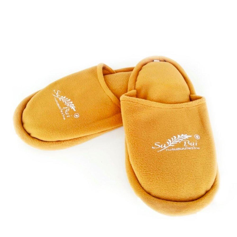 Sansukjai Herbal Shoes Heat Wrap Microwavable Heating Pad Therapies Massage Herb Bag