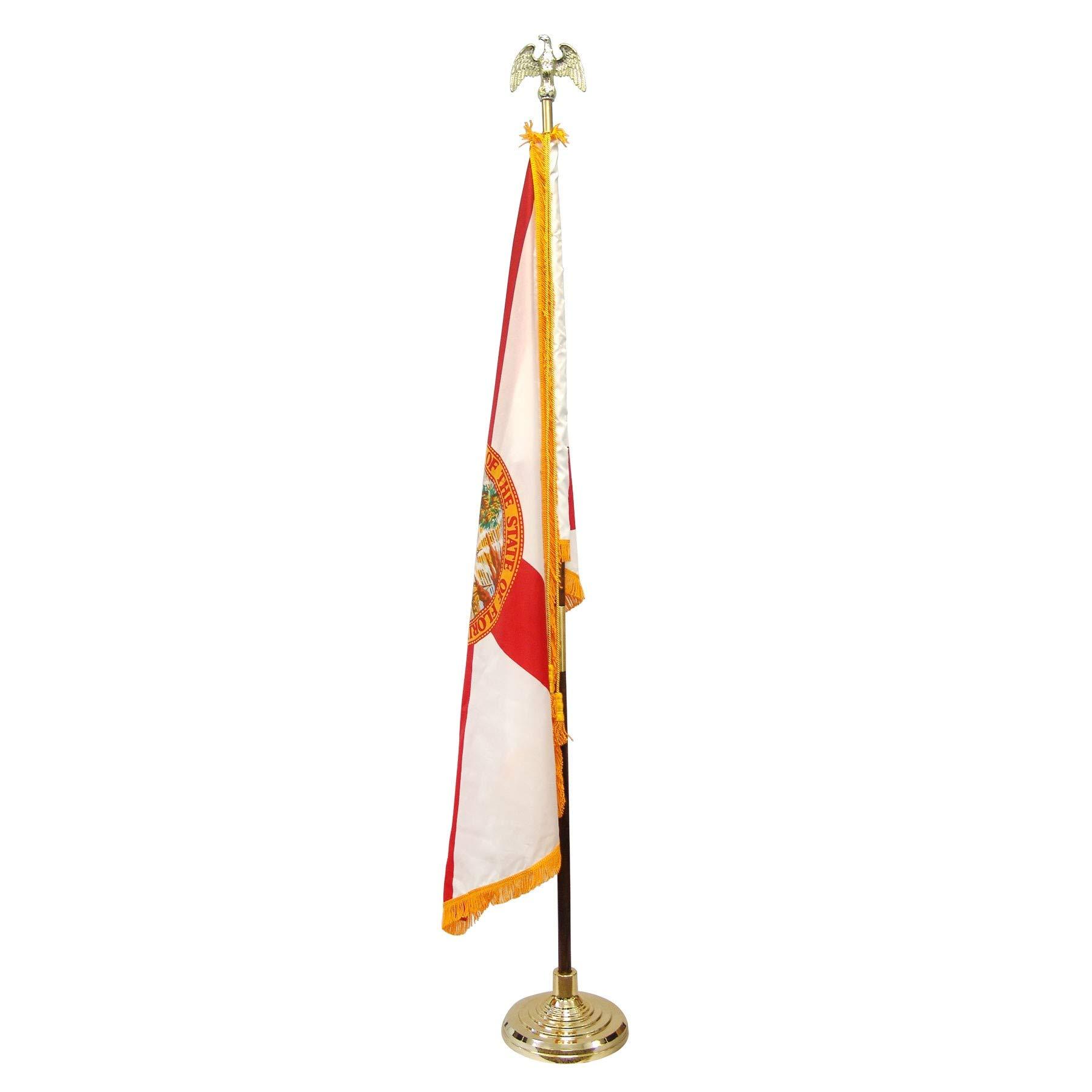 Super Tough Florida 3ft x 5ft Flag Flagpole Base and Tassel