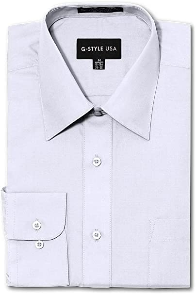 New VAN HEUSEN Tuxedo DRESS SHIRT WHITE Size L. G
