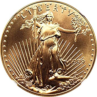 1 oz $50 Gold American Eagle NGC MS 69 Random Year