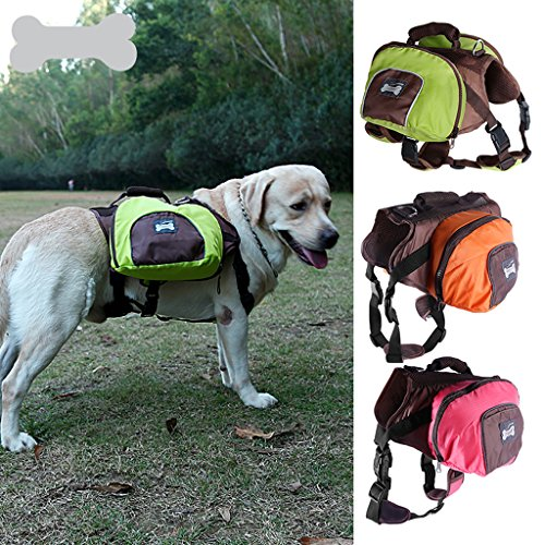 MagiDeal Dog Foldable Backpack Waterproof Portable Travel Outdoor Bag Pack Green M by MagiDeal (Image #7)