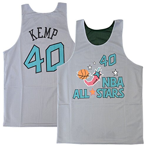 97e8a43b5 Amazon.com   Mitchell   Ness Shawn Kemp Seattle SuperSonics All Star 1996  Reversible Jersey (Small)   Sports   Outdoors