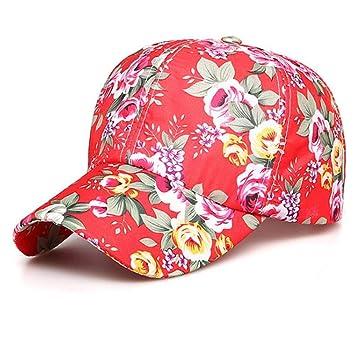 Kerli Men Women Snapback Floral Baseball Hat Hip Hop Cap Casual Sports  Outdoor Sunhat Re 3ad2118cfca7