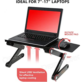 Amazon Com Desk York Portable Laptop Stand Best Gift