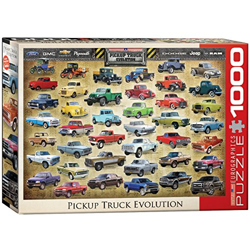 EuroGraphics Pickup Truck Evolution Jigsaw Puzzle (1000-Piece)