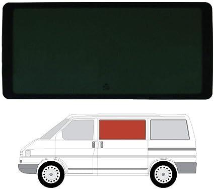 Mano izquierda, tintado oscuro fijo ventana para VW Transporter T4 (90 – 03) puerta corredera: Amazon.es: Coche y moto