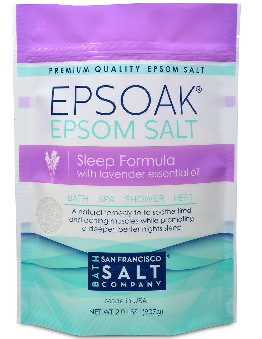 Epsoak Epsom Salt Sleep Formula 2lbs – Sleep Well & Relax