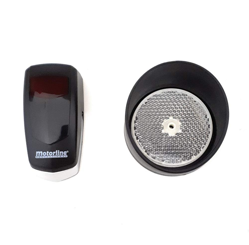 fotoc/élula espejo 4 mandos a distancia 4 mtrs de cremallera de acero KIT completo profesional Motor puerta corredera VDS SIMPLY para puertas de hasta 600kg.+ cuadro de control con receptor