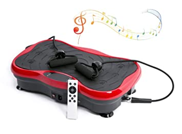 YUHT Plataforma Vibratoria Oscilante, Bluetooth Música Externa Mute ...