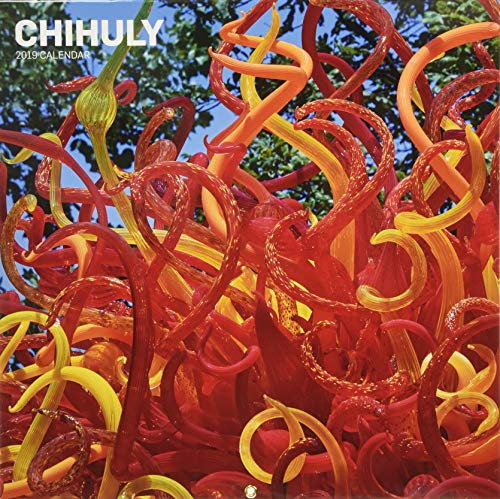 Chihuly 2019 Wall Calendar ()