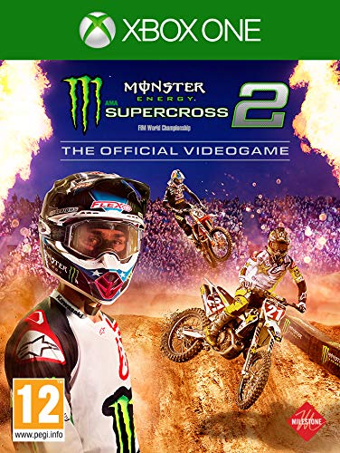 5259cf6f1 Monster Energy Supercross - The Official Video Game 2 (Xbox One)   Amazon.co.uk  PC   Video Games