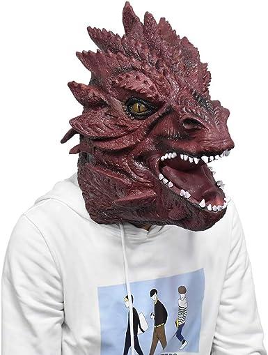 Máscara de Cabeza de dragón con diseño de Monstruo de Smaug ...