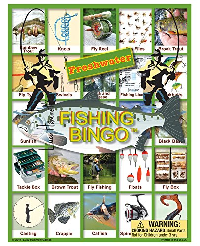 Freshwater Fishing Bingo (Playing Bingo)