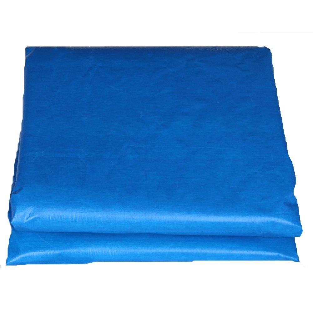 ZEMIN オーニング サンシェード ターポリン 防水 日焼け止め テント シート ルーフ 防風 キャンバス 老化防止 ポリエステル、 青、 155G/M²、 利用可能な9サイズ (色 : 青, サイズ さいず : 3X4M) B07D58Z4VD 3X4M|青 青 3X4M