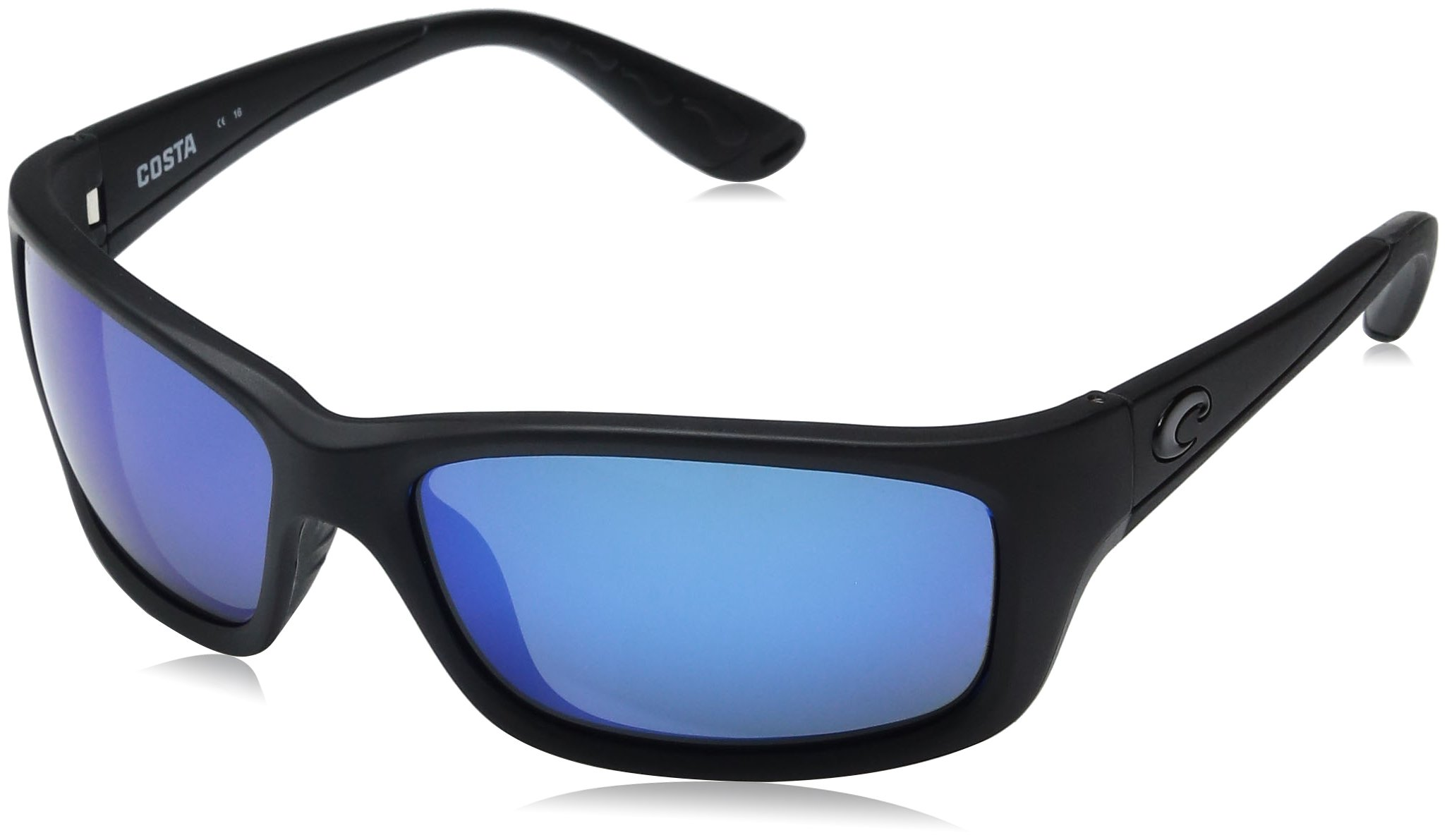 Costa Del Mar Jose Sunglasses, Blackout, Blue Mirror 580 Glass Lens by Costa Del Mar