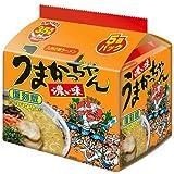 【復刻版】うまかっちゃん濃い味 九州の味ラーメン 調味オイル付き 5個パックセット〈期間限定品〉