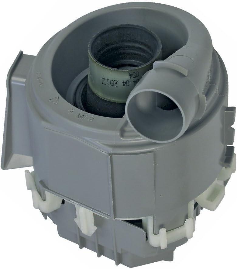 Bosch Siemens 00651956 651956 - Bomba de desagüe (100 V, con abrazadera para manguera, apta para Neff Balay Constructa Gaggenau Pitsos Profilo Tecnik Viva Junker&Ruh)
