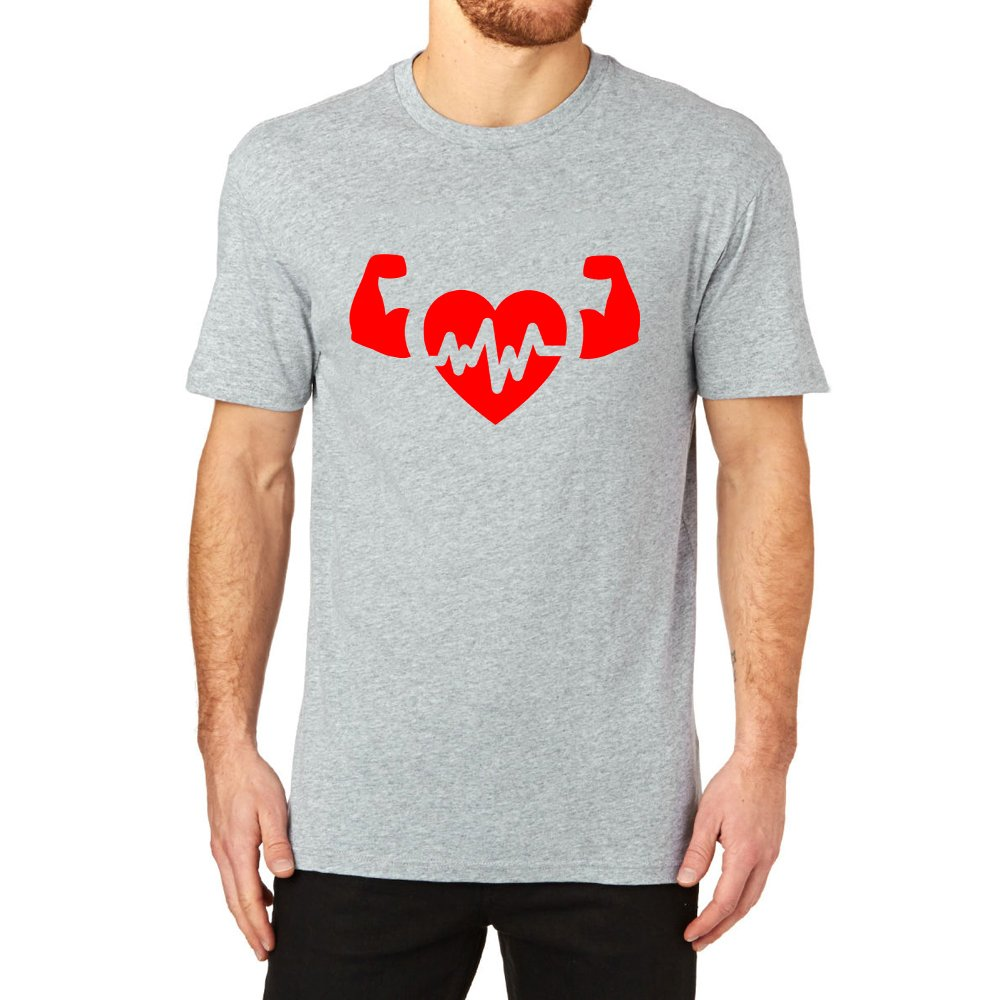 Loo Show Gym Ness Logo Gym Workout Graphic T Shirt Tee