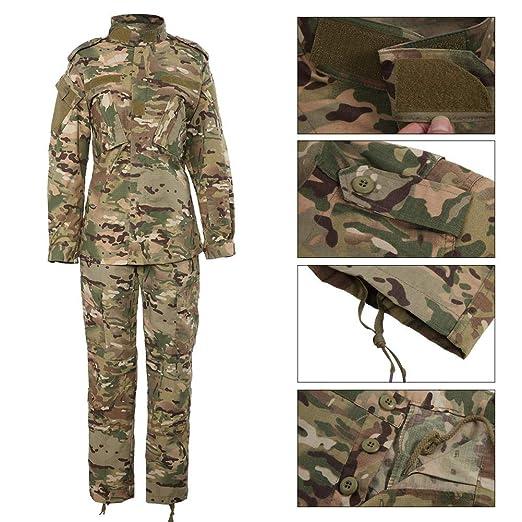 Amazon.com: Tihebeyan Uniforme de camuflaje, uniforme de ...