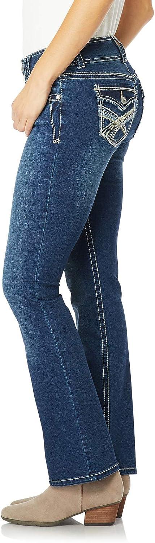 WallFlower Women's Instastretch Luscious Curvy Bootcut Jeans Chrystie