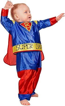Stekarneval - Disfraz de superhéroe para niño, talla 2-3 años ...