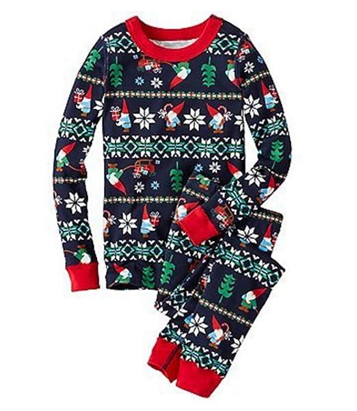 Conjunto de pijamas familiares de Navidad, Conjunto de pijamas de Navidad nuevos Conjunto de Navidad