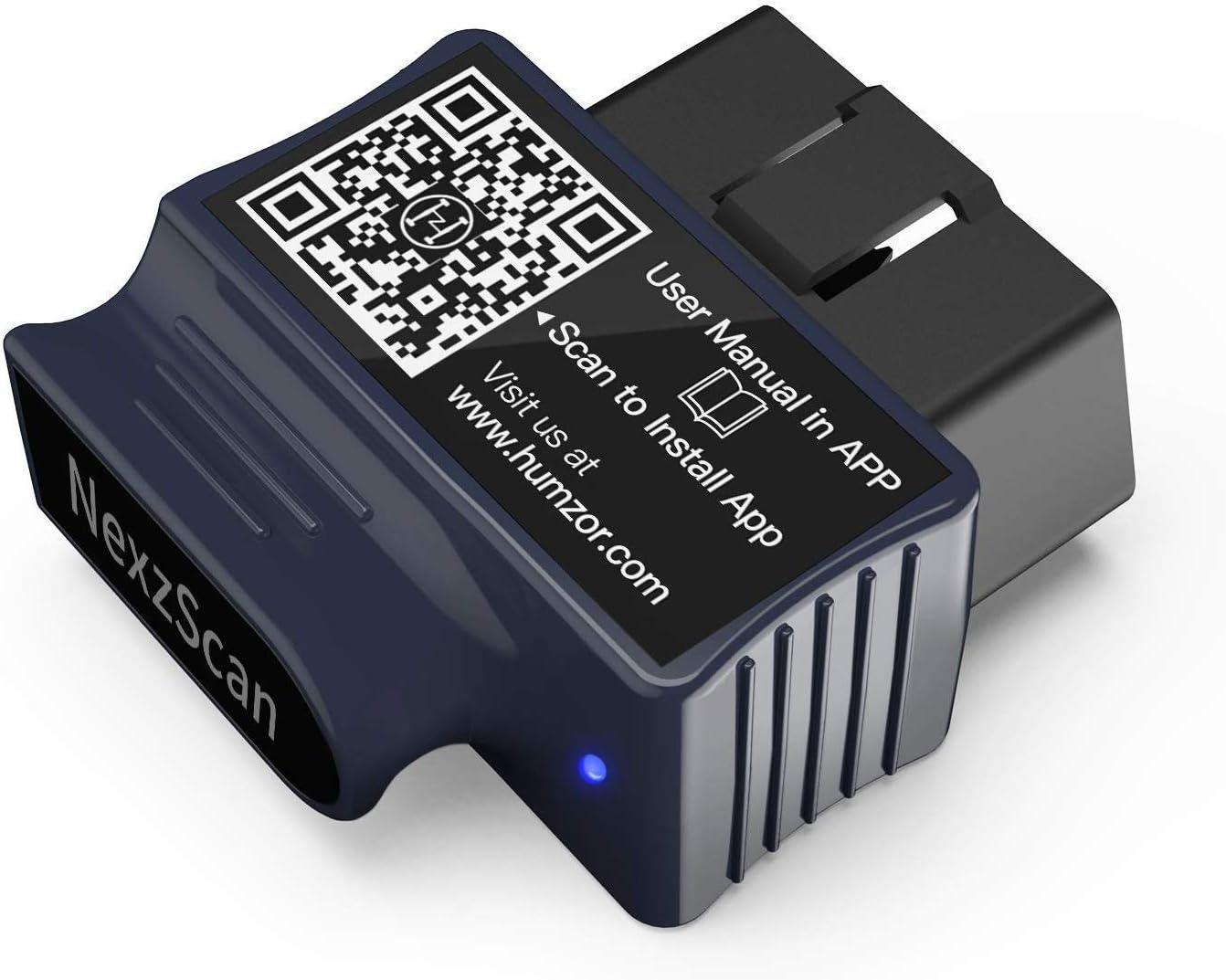 Escáner VXDAS OBD2 Lector de código de coche mejorado Bluetooth Herramienta de escaneo OBDII de diagnóstico profesional automático para Android / iPhone / ipad