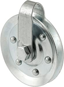 Prime-Line GD 52189 Pulley with 2 Straps and Axle Bolts, 3-Inch Diameter,(Pack of 2)