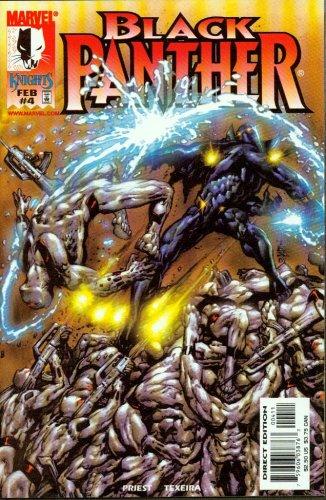 Black Panther #4 (Volume 2)