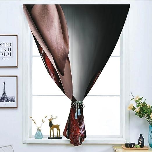 iPrint Cortina opaca para ventana, diseño de pinchazos ...