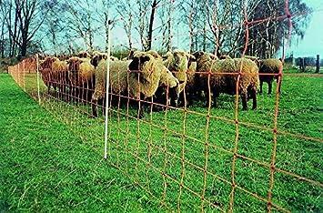 Schafnetz Weidenetz Elektrozaun Schafzaun,ElektrozaunDoppelspitze  90cm 2-spitz