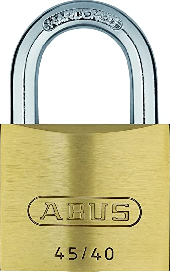 ABUS Titalium-Vorhangschloss 64TI//40 Quads Set-4-Stück 5 Schlüsseln gleichschl.