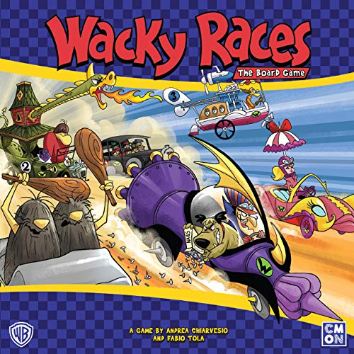 - Wacky Races: The Board Game