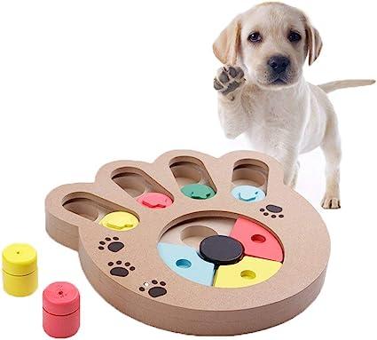 Yjzq Juguete Para Perros Inteligencia Juego Educativo De Perros Juego De Ocultación Interactivo Para Perros Gatos Juguete De Ocultación Interactivo Amazon Es Hogar