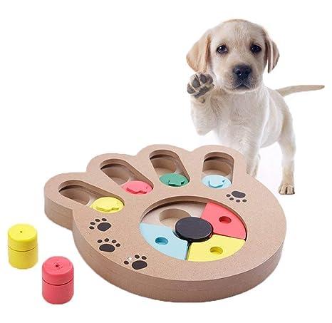 YJZQ Juguete Perro Intelligence Juego Educativo Perros Juego de Dissimulation interactiva Perro Juguete Juego de Dissimulation