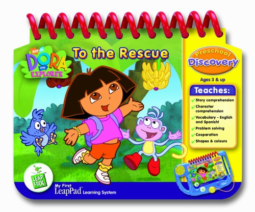 LeapFrog My First LeapPad Educational Book: Dora The Explorer To the Rescue by LeapFrog (Image #1)