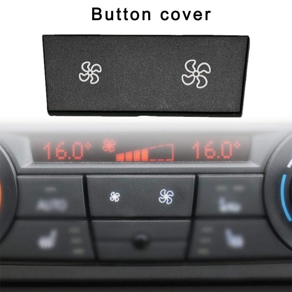 Cosy-TT Volumen de Aire del Calentador Bot/ón Clima Aire Acondicionado Cubrir el Interruptor de bot/ón para el Coche