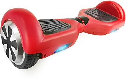 Amazon.com: Hovers Hovers Hoverboard Red Safe Smart ...
