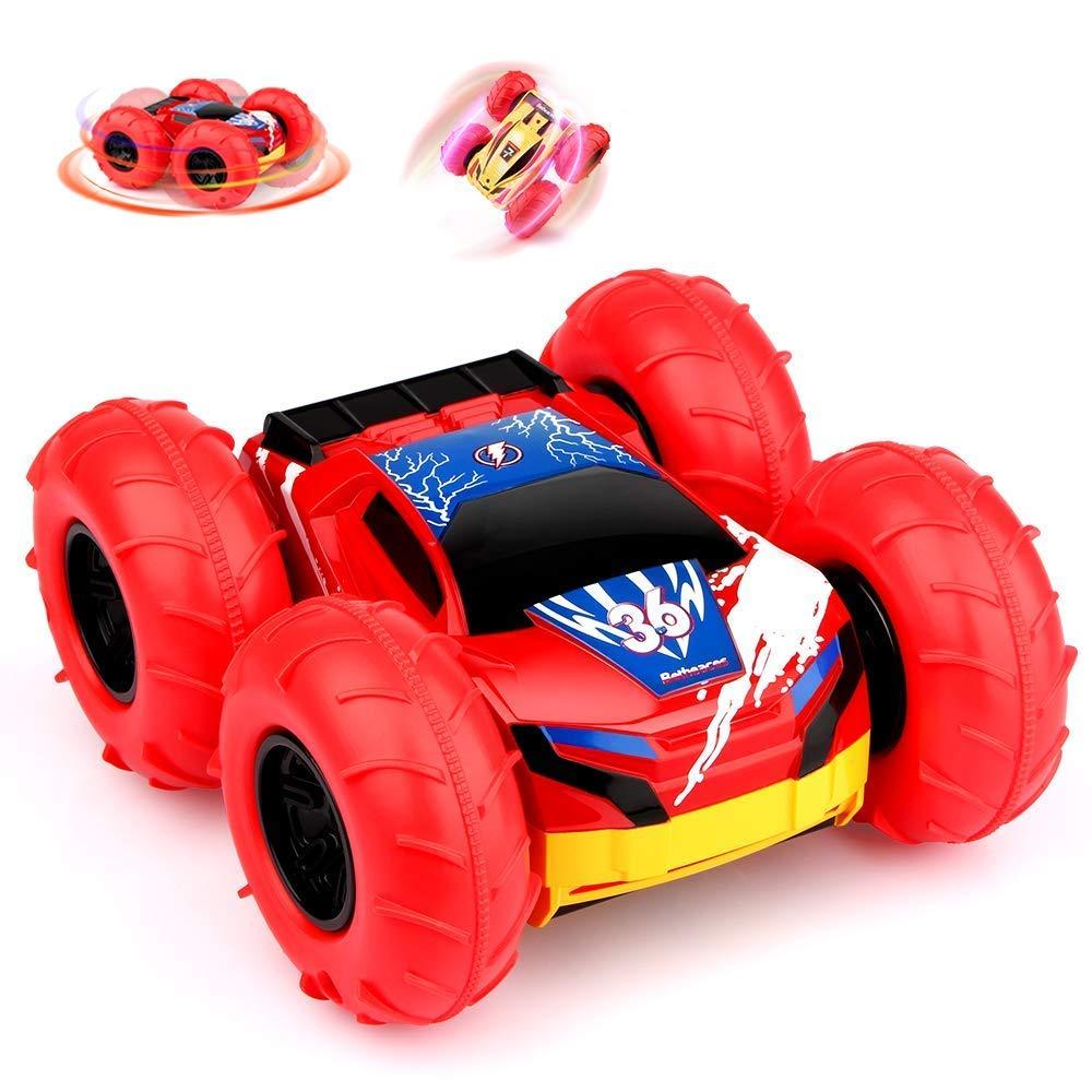 Baztoy Ferngesteuertes Auto KinderSpielzeug Jungs RC Stunt Car Gelä nde Rennwagen-Outdoor Fun-Sportarten Betheaces