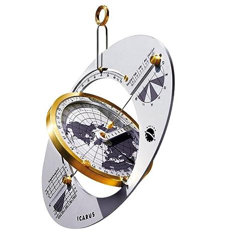 ICARUS Reloj de sol, brújula solar y navegador global para viajes