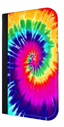 Amazon Com Trippy Tie Dye Apple Iphone 7 Pu Leather And Suede