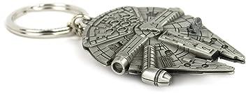 Star Wars Millennium Falcon Réplica Llavero: Amazon.es ...