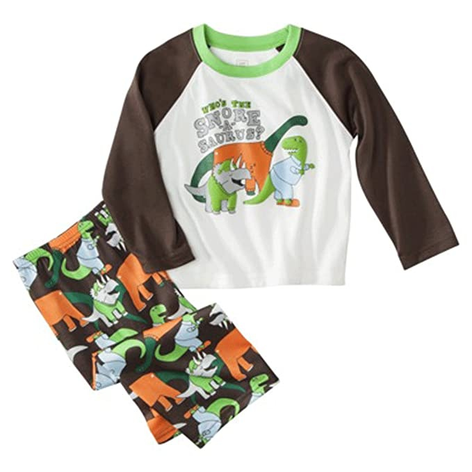 07ee5ebf2 Amazon.com  Just One You Made By Carter s Infant Boys Dinosaur 2pc ...